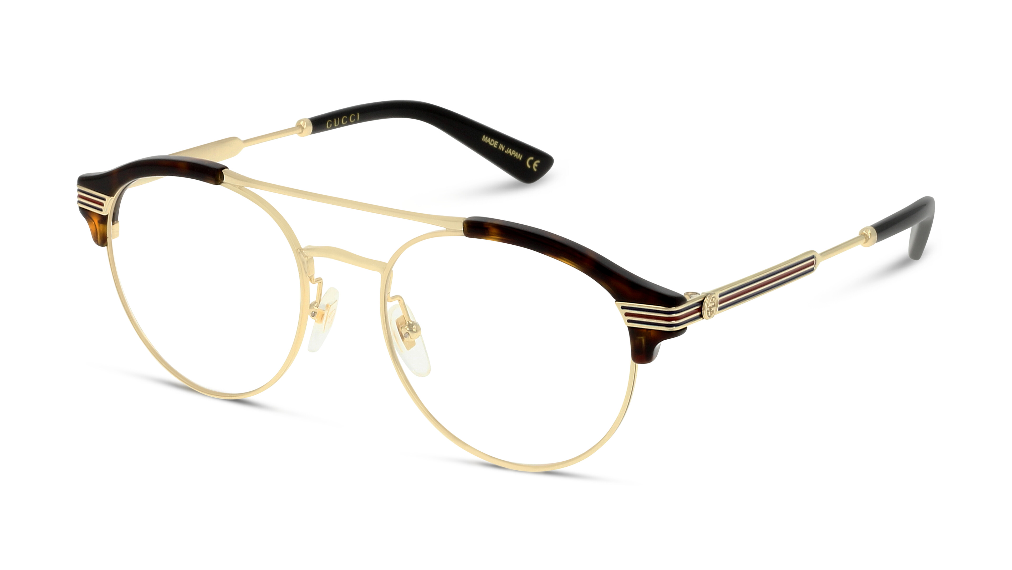 8056376156249-angle-brillenfassung-gucci-gg0289o-havana-gold-transparent