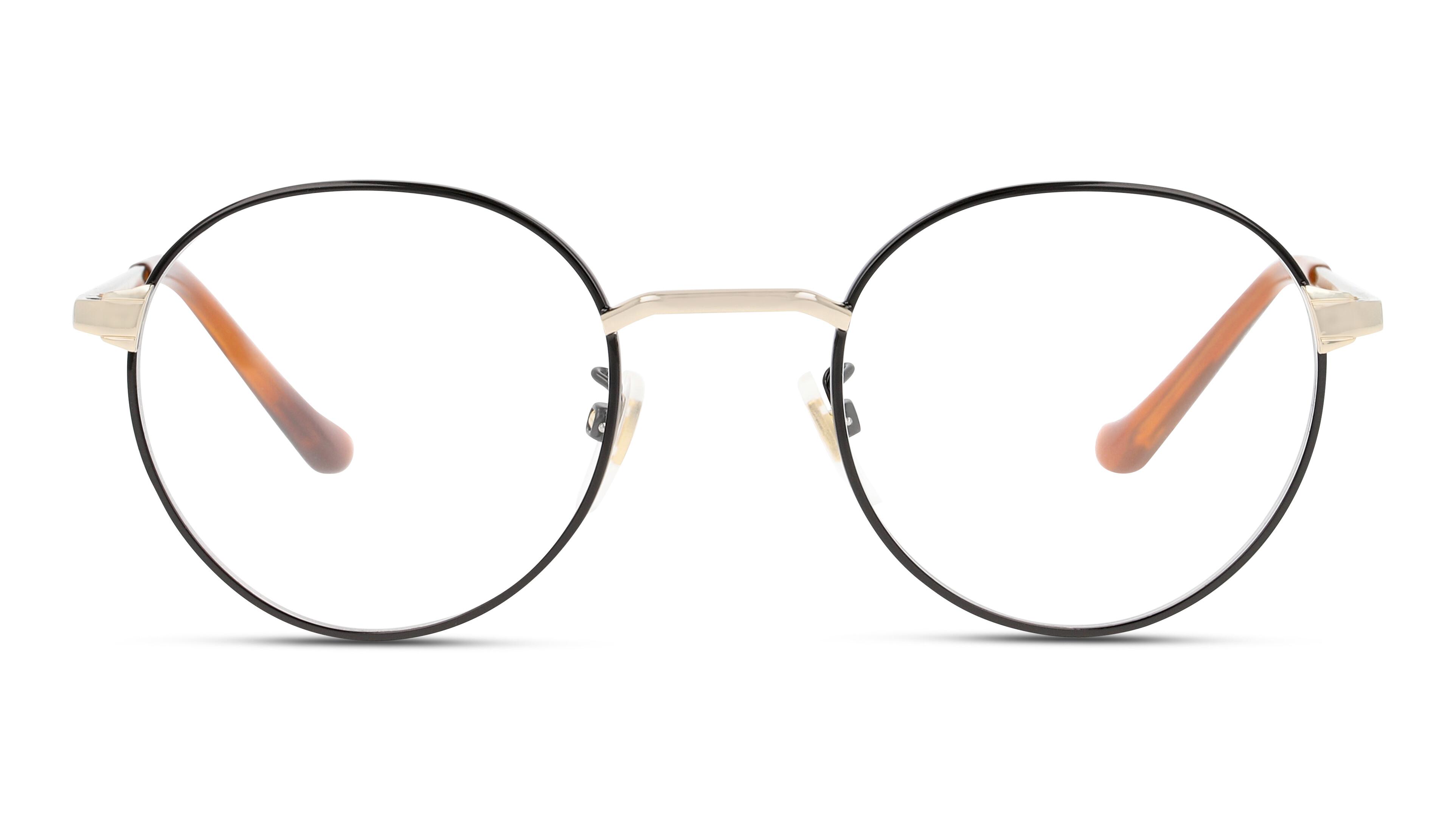 8056376285062-front-brillenfassung-gucci-gg0581o-black-gold-transparent