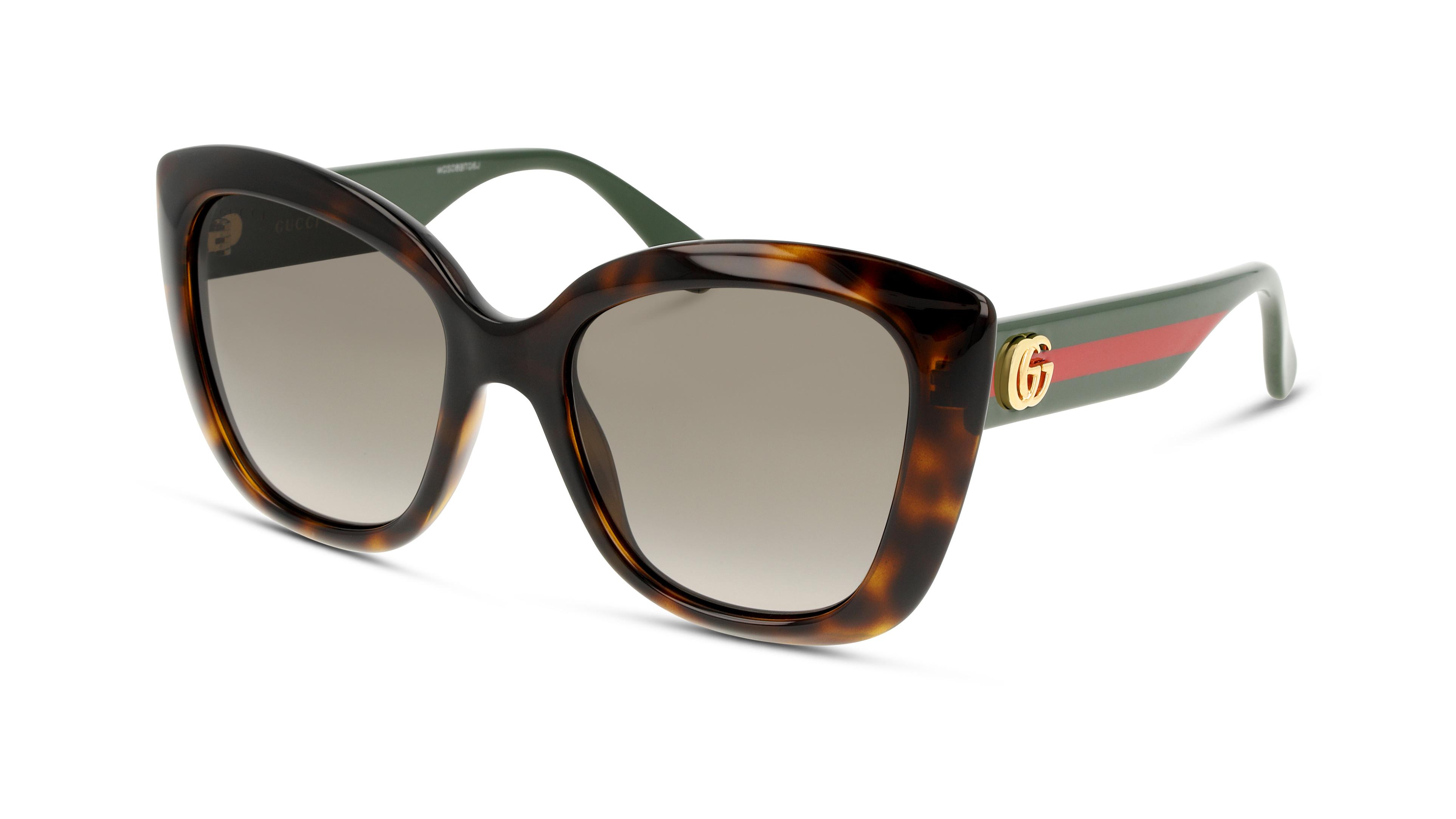 8056376336658-angle-sonnenbrille-gucci-gg0860s-havana-green-brown