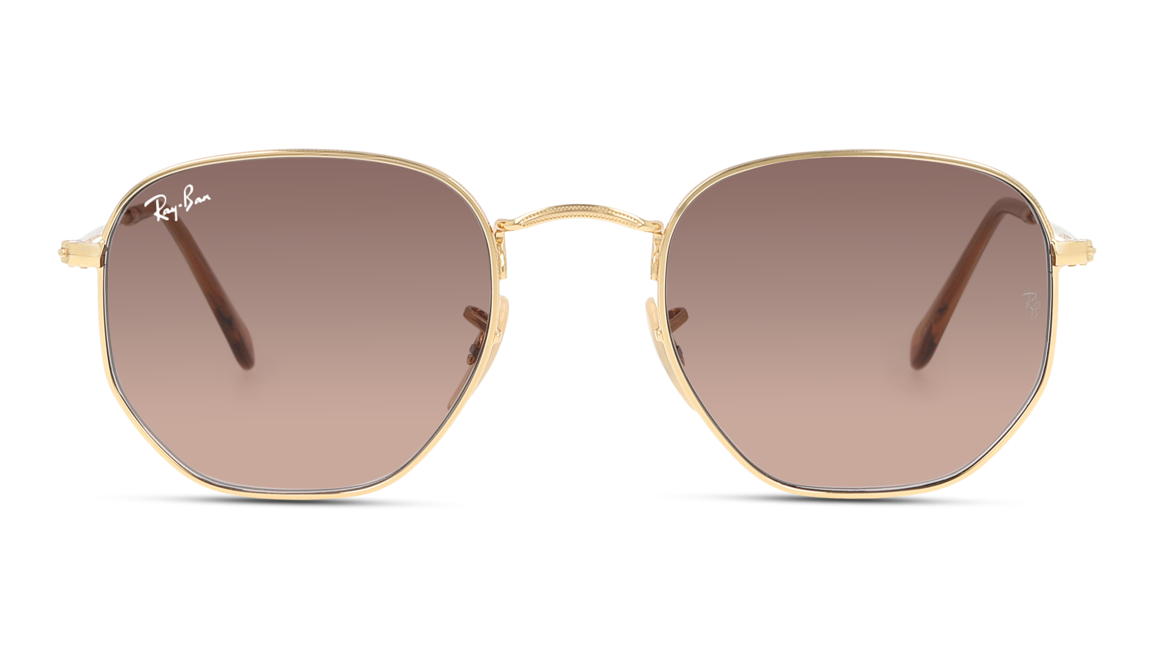 8056597077378-front-01-ray-ban-0rb3548n-HEXAGONAL-gold_1