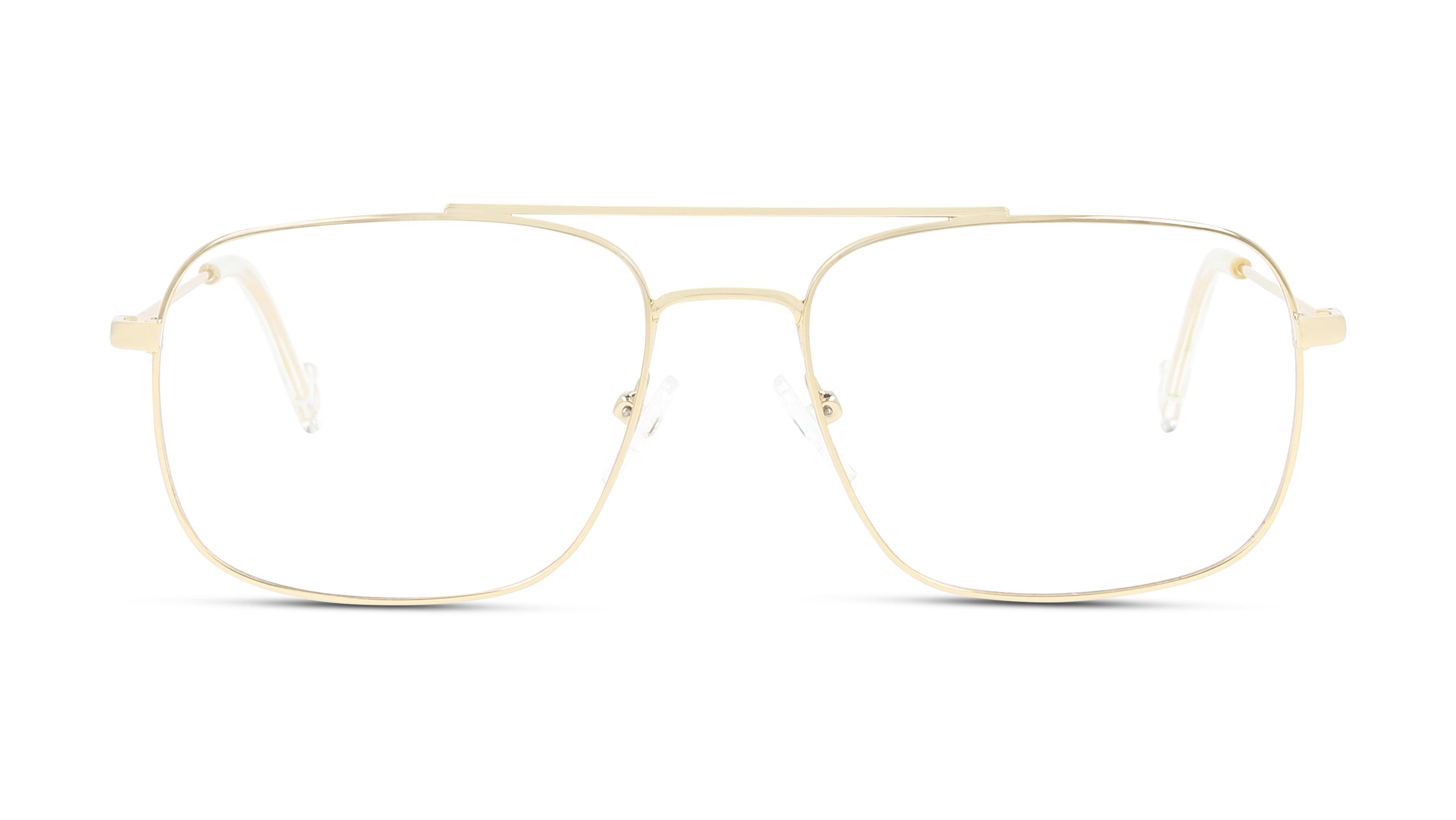 8719154738715-front-brillenfassung-unofficial-unom0074-shape-up-box-9-gold-gold