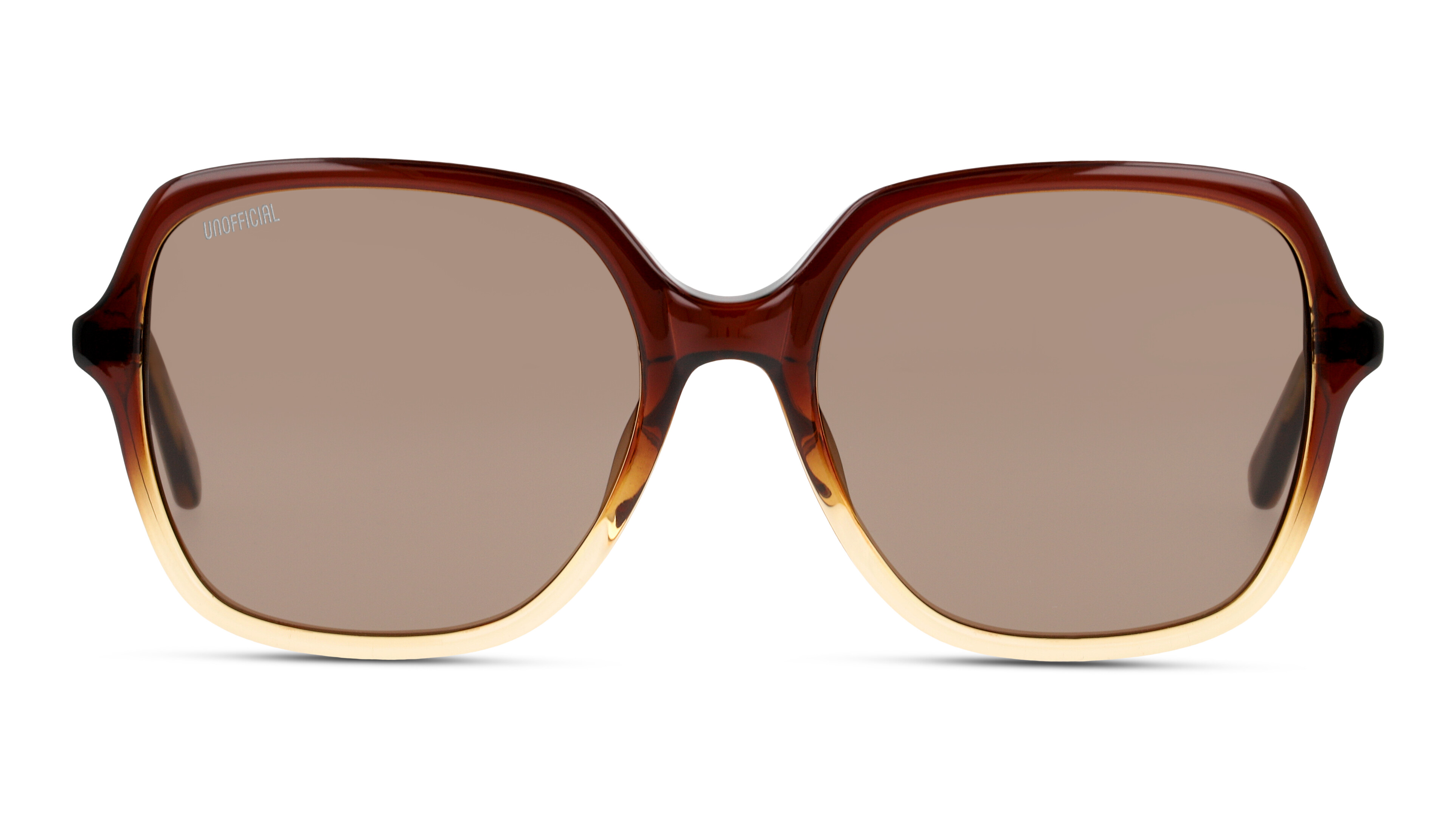 8719154812019-front-sonnenbrille-unofficial-unsf0131-brown-brown
