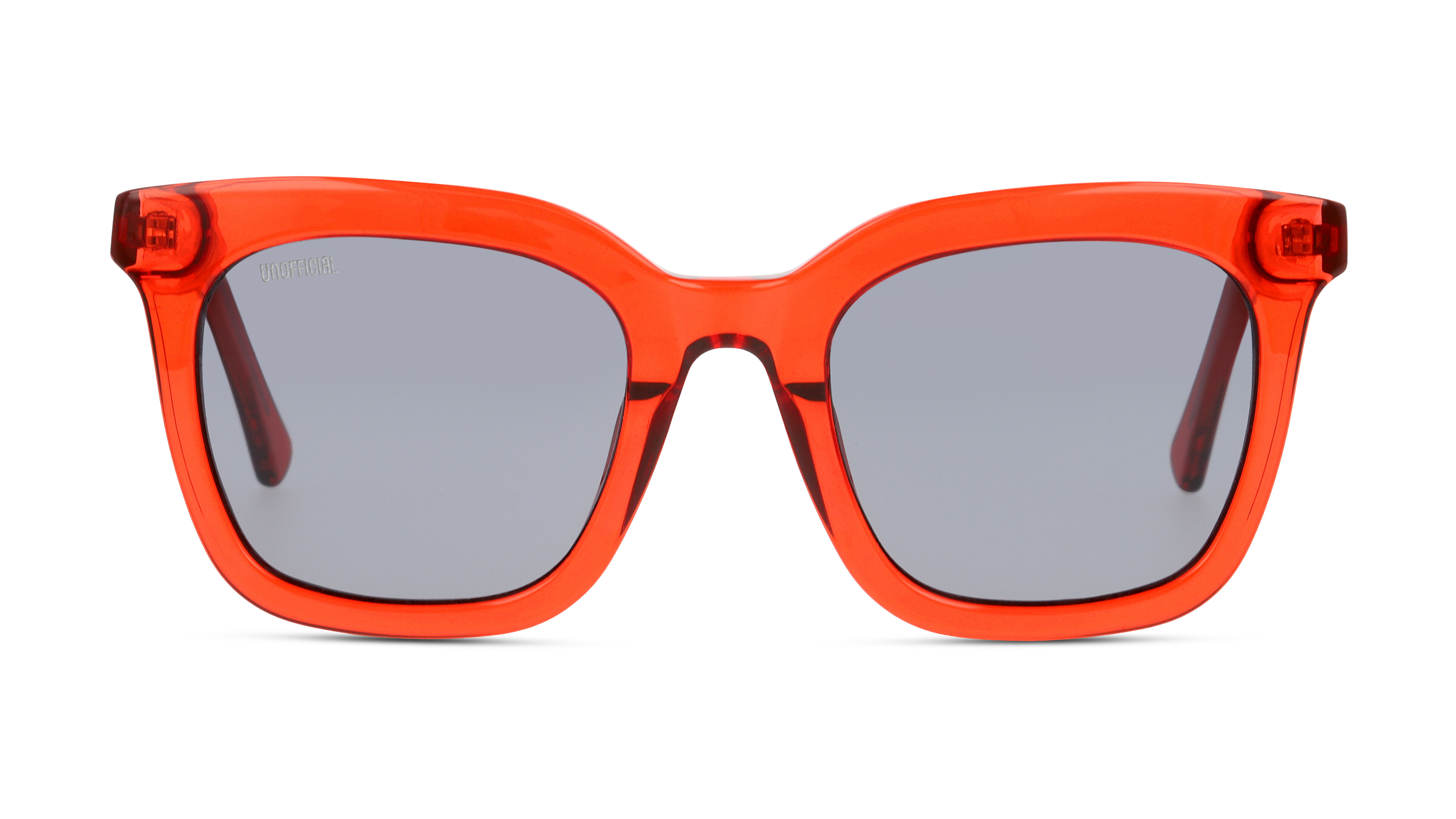 8719154812576-front-sonnenbrille-unofficial-unsu0073-red-red